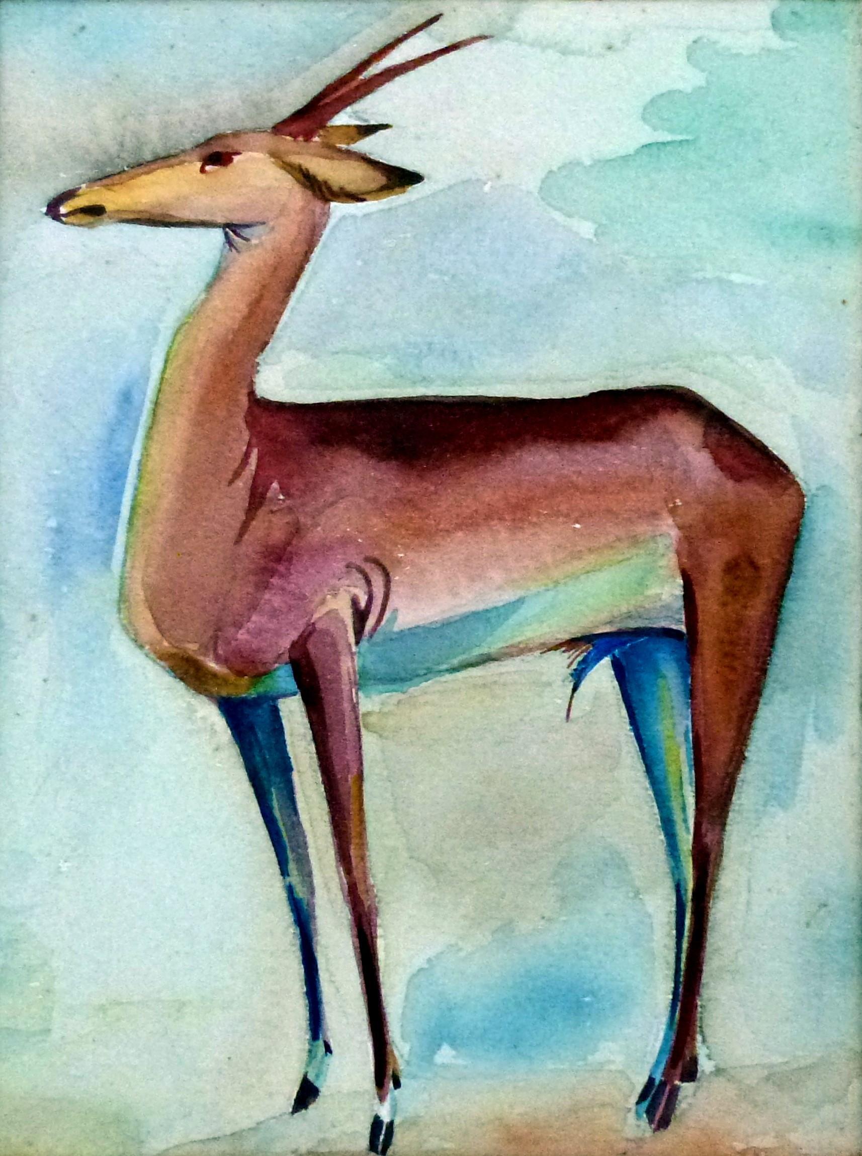 Stehende Antilope – Februar 1944