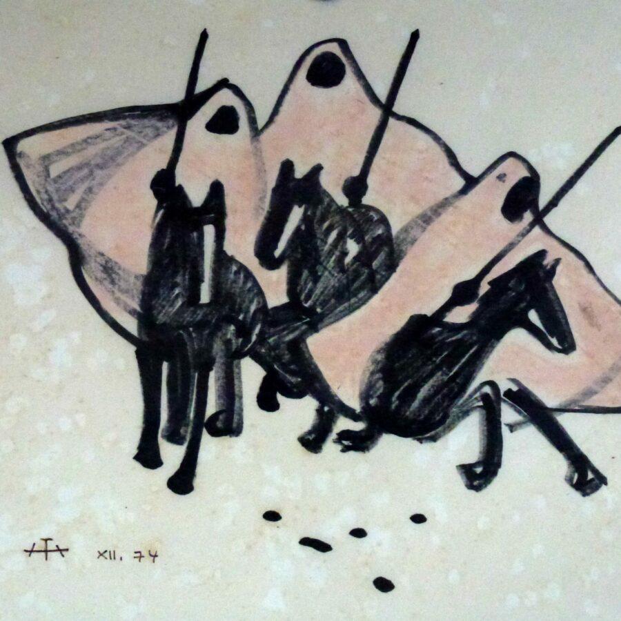 Drei Beduinen Reiterspiele – Dezember 1974