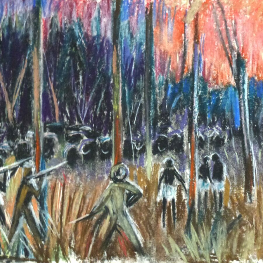 Büffeljagd im Busch – März 1974