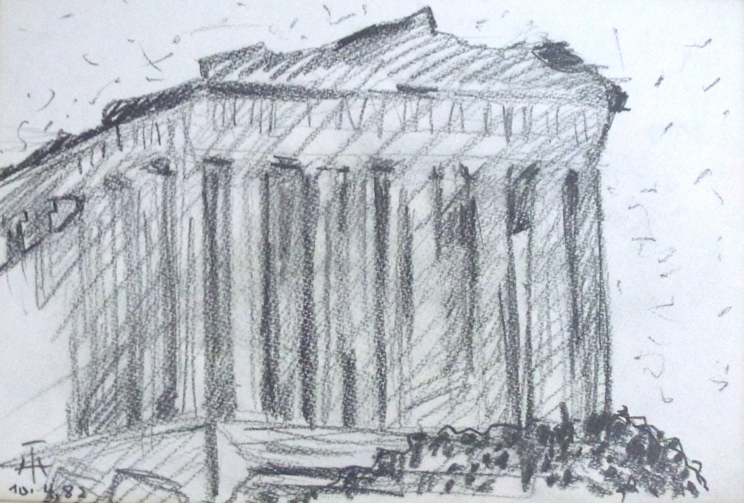 Parthenon – April 1982