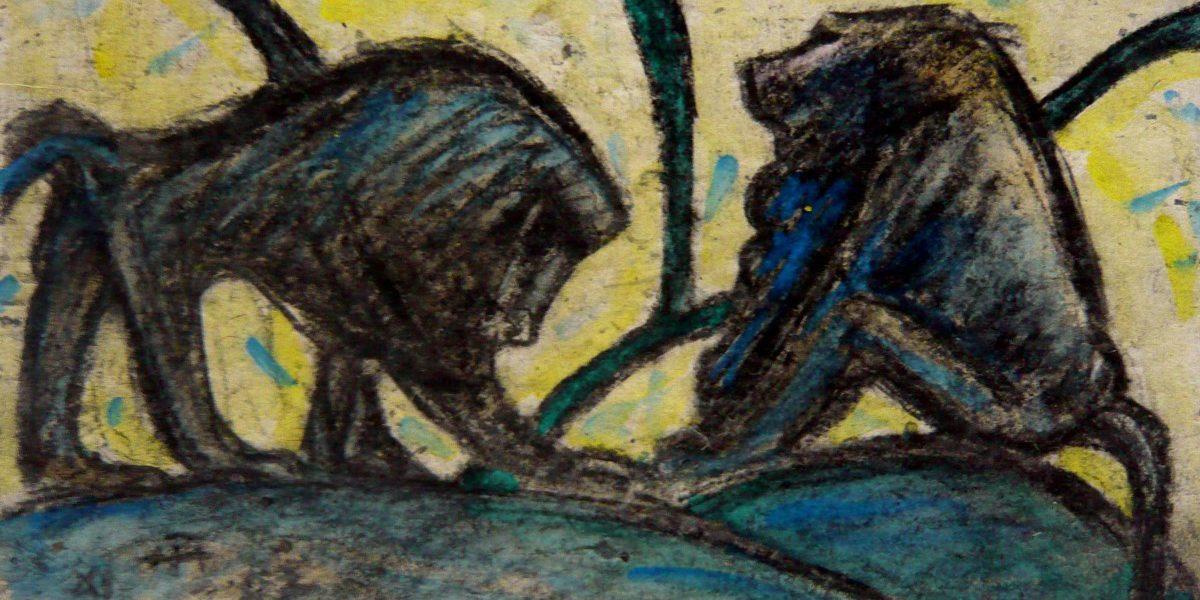 Zwei Paviane – November 1987