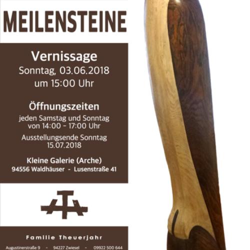"""Vernissage """"Meilensteine"""" in Waldhäuser"""