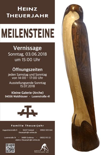 Heinz Theuerjahr Vernissage Meilensteine 2018