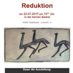 Vernissage Reduktion