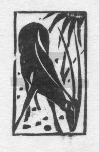 Fressender Bock 1948