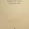 Tagebuch der ersten Afrikareise